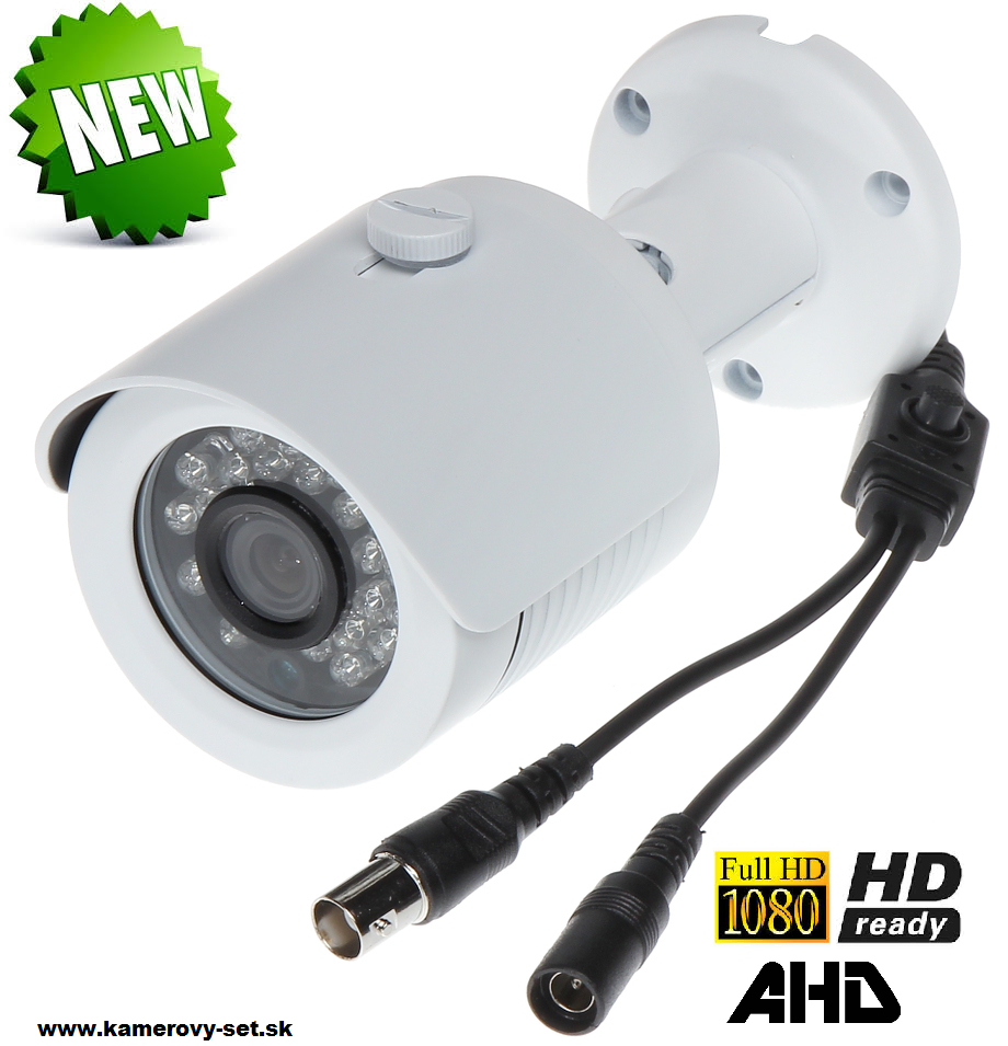 KAMERA AHD, HD-CVI, HD-TVI, PAL 1080p 3.6 mm
