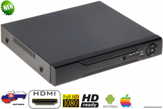 DVR HYBRO-1630E 16 KANÁLOV  FULL HD