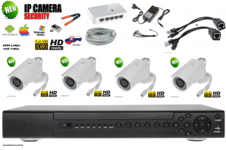 IP KAMEROVY SYSTEM ONVIF FULL HD