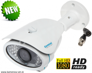 KAMERA AHD, HD-CVI, HD-TVI, PAL - 1080p 3.6 mm